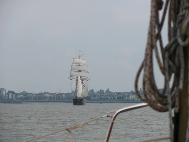 Ditch-crawler meets some tall ships on the Thames… | Nick Ardley